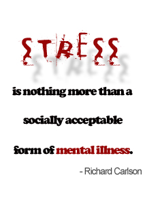 humorous quotes about stress quotesgram